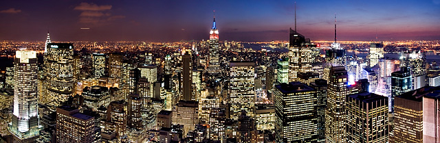 Panorama-New-York-Architektur